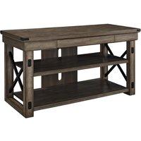 DOREL HOME Wildwood 1735096UK 1210 mm TV Stand – Rustic Grey, Grey