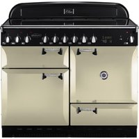 RANGEMASTER Elan 110 Electric Ceramic Range Cooker - Cream & Chrome, Cream