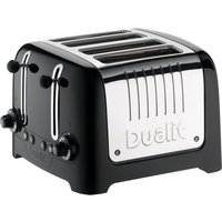 Buy DUALIT DL4B 4-Slice Toaster - Black, Black - Currys PC World