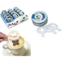EDDINGTONS Coffee Stencils Gift Tin, Chocolate