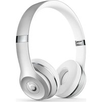 BEATS BY DR DRE Solo 3 Wireless Bluetooth Headphones - Silver, Silver