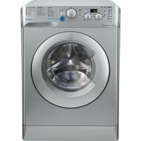 Indesit Innex Bwd 71453 S Washing Machine - Silver, Silver at Currys Electrical Store