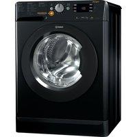 Indesit Xwde 861480x K 8 Kg Washer Dryer - Black, Black