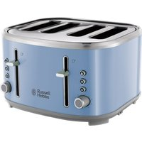 R HOBBS Bubble 24413 4-Slice Toaster - Blue, Blue
