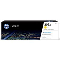 HP 203A Yellow Toner Cartridge, Yellow