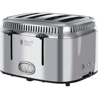 Retro 21695 4-Slice Toaster - Silver, Silver