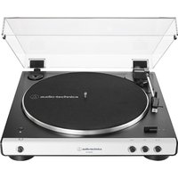 AT-LP60XBT Belt-Drive Bluetooth Turntable - White, White