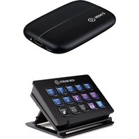 ELGATO HD60S Console Game Capture Card and Stream Deck Bundle