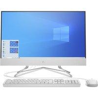 "HP 24-df0015na 23.8"" All-in-One PC - Intel®Core™ i3, 256 GB SSD, White, White"