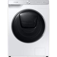 SAMSUNG QuickDrive WW90T986DSH/S1 WiFi-enabled 9 kg 1600 Spin Washing Machine - White, White.