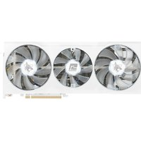 POWERCOLOR Radeon RX 6700 XT 12 GB Hellhound Spectral White Graphics Card, White