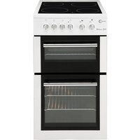 FLAVEL MLB5CDW Electric Ceramic Cooker - White, White
