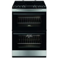 ZANUSSI ZCV660CTX 60 cm Electric Cooker - Stainless Steel, Stainless Steel