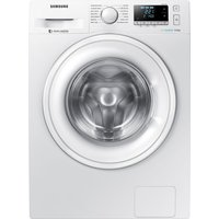 SAMSUNG ecobubble WW90J5456DW 9 kg 1400 Spin Washing Machine - White, White