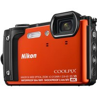 Nikon COOLPIX W300 Tough Compact Camera - Orange, Orange