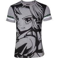 NINTENDO Link Streetwear T-Shirt - Grey, XL, Grey