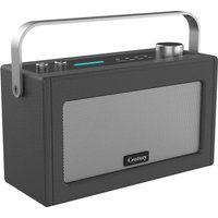 I-BOX Century Wireless Voice Controlled Speaker - Charcoal, Charcoal