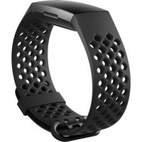 FITBIT Charge 3 Sport Band - Black, Large, Black