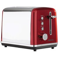 DAEWOO Kensington SDA1584 2-Slice Toaster - Red, Red