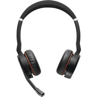 JABRA Evolve 75 Wireless Bluetooth Headphones - Black, Black