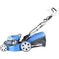 HYUNDAI HYM530SPE Cordless Rotary Lawn Mower - Blue, Blue
