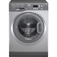 HOTPOINT Aquarius WMAQF641G Washing Machine - Graphite, Graphite