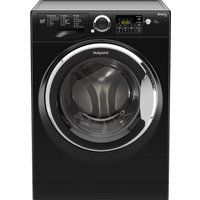 HOTPOINT Smart RSG964JKX Washing Machine - Black, Black