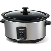 'Morphy Richards 48709 Slow Cooker - Stainless Steel