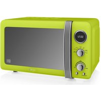 SWAN Retro SM22030LN Solo Microwave - Lime, Lime