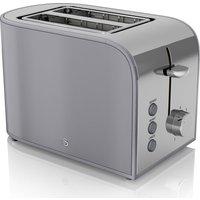 Buy SWAN Retro ST17020GRN 2-Slice Toaster - Grey, Grey - Currys PC World
