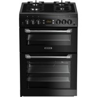 LEISURE Cuisinemaster CS60GVK 60 cm Gas Cooker - Black, Black