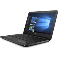 HP 14-am074na 14 Laptop - Black, Black