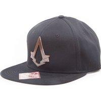 ASSASSINS CREED Syndicate Bronze Logo Snapback Cap - Black, Bronze