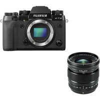 FUJIFILM X-T2 Mirrorless Camera & 16 mm f/1.4 Lens Bundle
