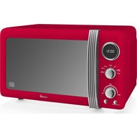 Click to view product details and reviews for Swan Sm22030rn Solo Microwave Red Red.