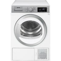 SMEG DHT91LUK 9 kg Heat Pump Tumble Dryer - White