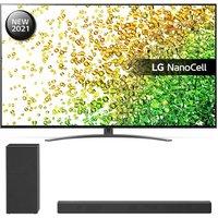 "50"" LG 50NANO866PA  Smart 4K Ultra HD HDR LED TV & SK1 Compact Sound Bar Bundle"