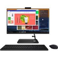 """LENOVO IdeaCentre AIO 3 23.8"""" All-in-One PC - AMD Athlon Silver, 256 GB SSD, Black, Silver"""