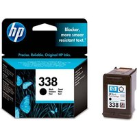 HP 338 Black Ink Cartridge, Black