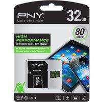 PNY Performance 10 microSD Memory Card - 32 GB