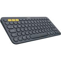 LOGITECH K380 Wireless Keyboard - Dark Grey, Grey