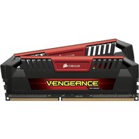 CORSAIR Vengeance Pro Red DDR3 PC Memory - 2 x 8 GB DIMM RAM, Red