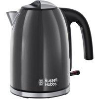 RUSSELL HOBBS  Colour Plus 20414 Jug Kettle - Grey, Grey