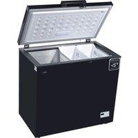 LOGIK L200CFB17 Chest Freezer - Black, Black
