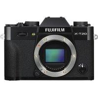 FUJIFILM X-T20 Mirrorless Camera - Black, Body Only, Black