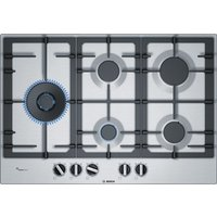 BOSCH Serie 4 PCS7A5B90 Gas Hob - Stainless Steel, Stainless Steel