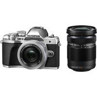 OLYMPUS OM-D E-M10 Mark III Mirrorless Camera with M.ZUIKO DIGITAL ED 14-42 mm f/3.5-5.6 EZ & ED 40-150 mm f/4-5.6 R Lens sale image