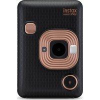 INSTAX LiPlay Digital Instant Camera - Black, Black