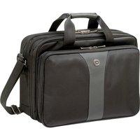 "WENGER Legacy Double-Gusset 16"" Laptop Case - Black & Grey, Black"