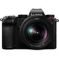 PANASONIC Lumix DC-S5KE-K Mirrorless Camera with 20-60 mm f/3.5-5.6 Lens - Black